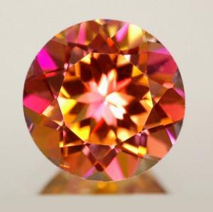 round cut gems